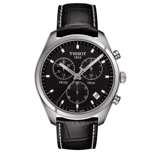 ساعت مچی عقربه ای مردانه تیسوت مدل PR 100 T101.417.16.051.00