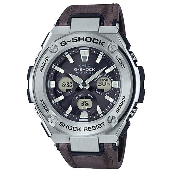 ساعت مچی عقربه ای مردانه کاسیو مدل GST-S330L-1ADR
