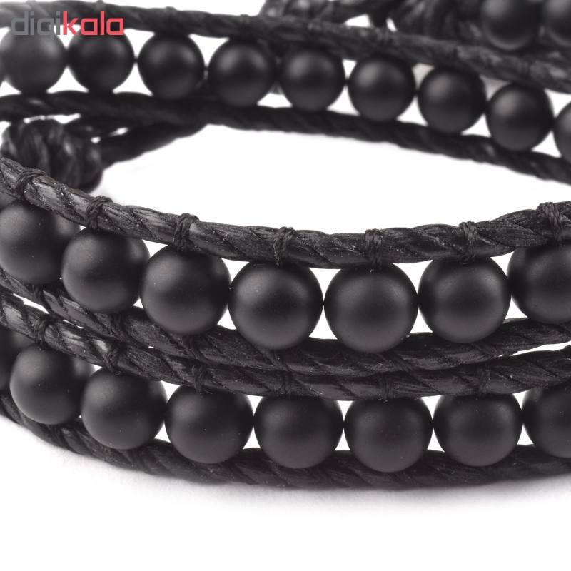 دستبند مردانه درگون جولری مدل HC15