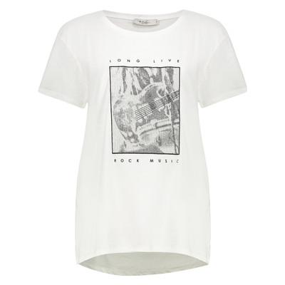 تی شرت زنانه کالینز مدل CL1032897-WHITE