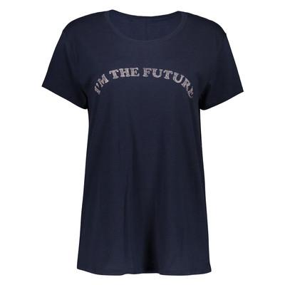 تصویر تی شرت زنانه کالینز مدل CL1032844-NAVY