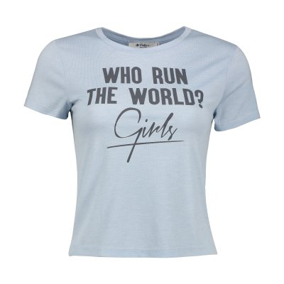 تصویر تی شرت زنانه کالینز مدل CL1032901-BLUE