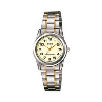 ساعت مچی عقربه ای زنانه کاسیو مدل LTP-V001SG-9BUDF