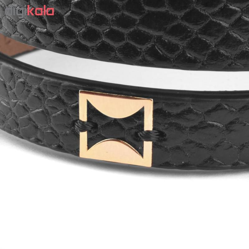 دستبند طلا 18عیار زنانه درگون جولری مدل SLT21