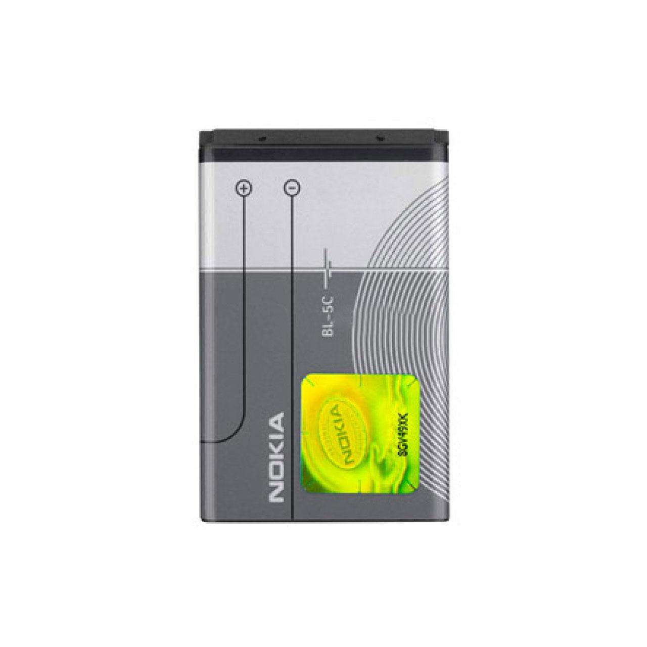 باتری موبایل مدل BL-5C ظرفیت 1020 میلی آمپر ساعت مناسب برای گوشی موبایل نوکیا C2-03