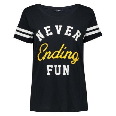 تصویر تی شرت زنانه کالینز مدل CL1034124-NAVY