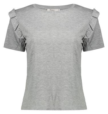 تی شرت زنانه کالینز مدل CL1031960-GREY MELANGE