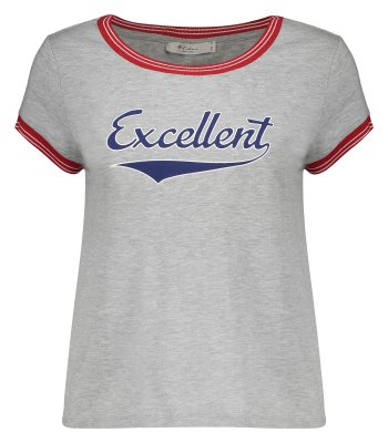 تی شرت زنانه کالینز مدل CL1032845-GREY MELANGE