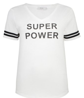 تصویر تی شرت زنانه کالینز مدل CL1033608-WHITE