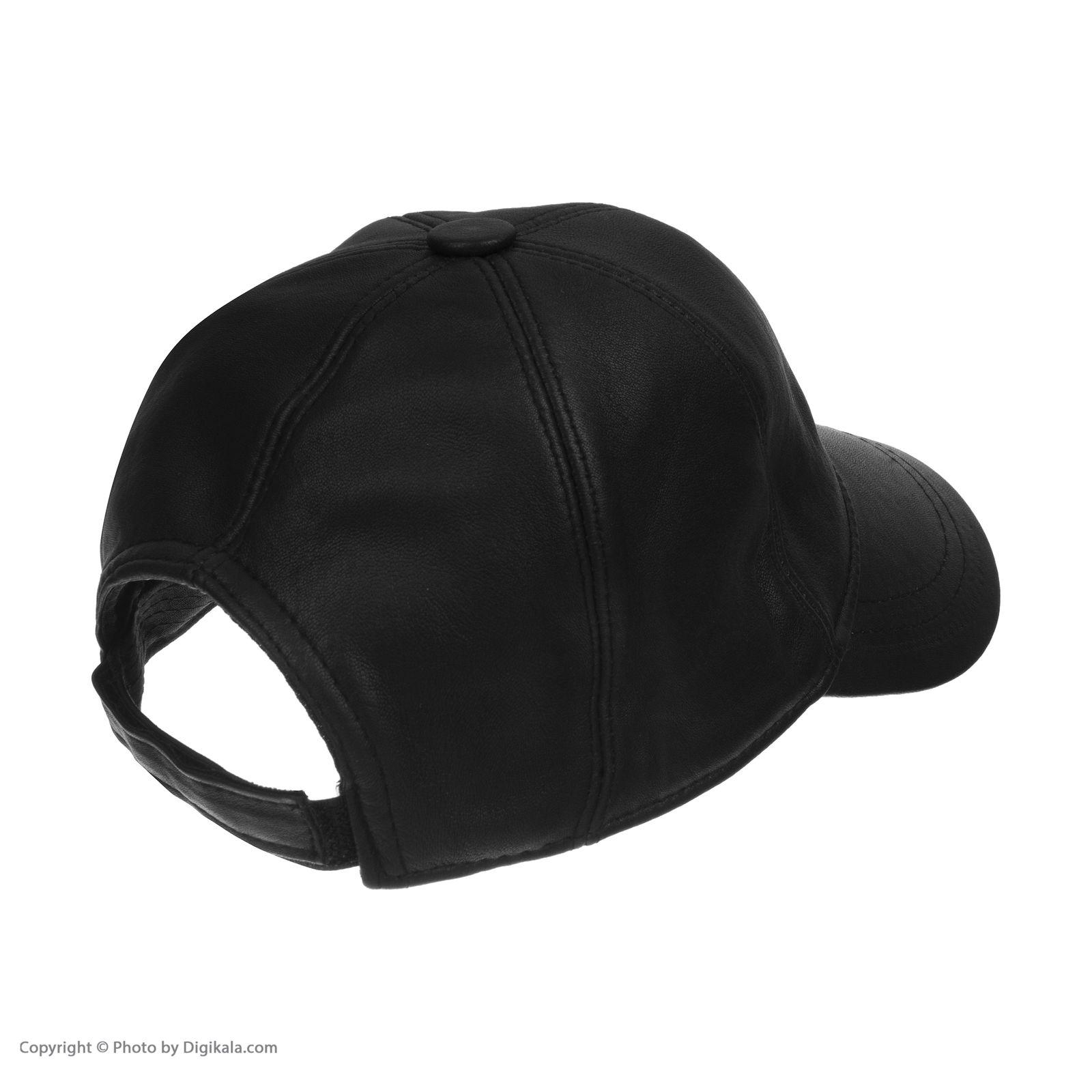 کلاه شیفر مدل 8701A01 - مشکی - 4