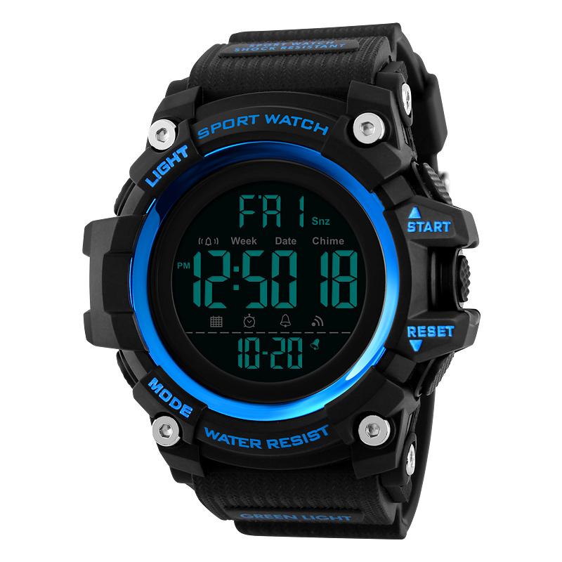 ساعت مچی عقربه ای مردانه اسکمی مدل 1384 blue             قیمت