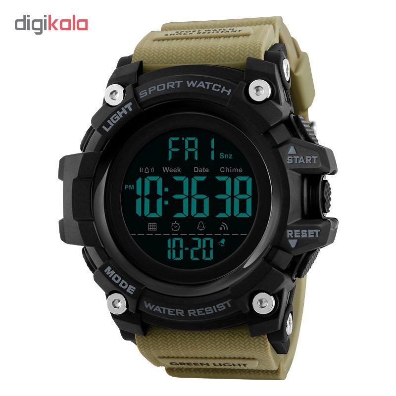 ساعت مچی دیجیتال مردانه اسکمی مدل 1384KH