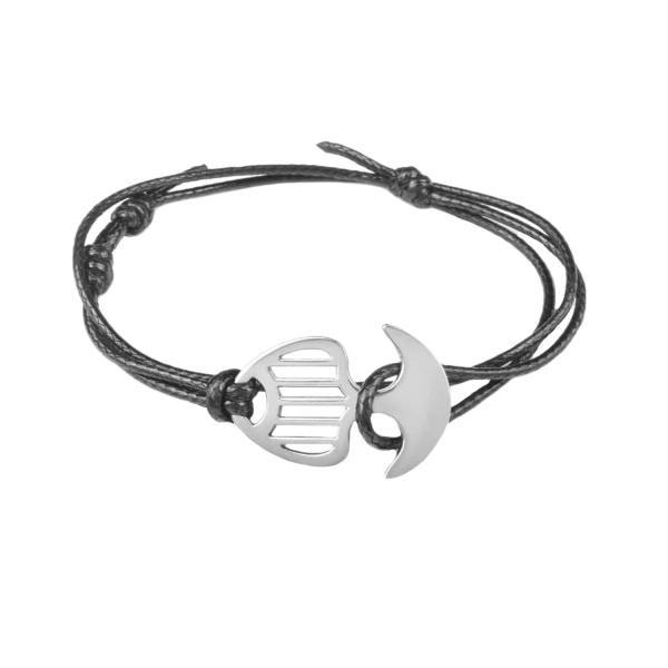 دستبند مردانه درگون جولری مدل A1