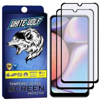 محافظ صفحه نمایش مات وایت ولف مدل WGM مناسب برای گوشی موبایل سامسونگ Galaxy A10 بسته 2 عددی