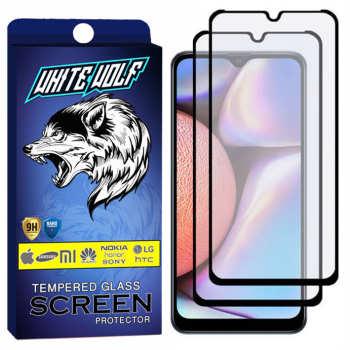 محافظ صفحه نمایش مات وایت ولف مدل WGM مناسب برای گوشی موبایل سامسونگ Galaxy A30S بسته 2 عددی