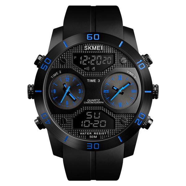 ساعت مچی عقربه ای مردانه اسکمی مدل 1355BL