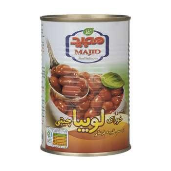 کنسرو خوراک لوبیا مجید - 400 گرم
