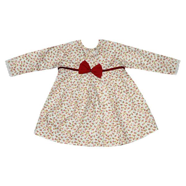 پیراهن دخترانه طرح گل مدل 320