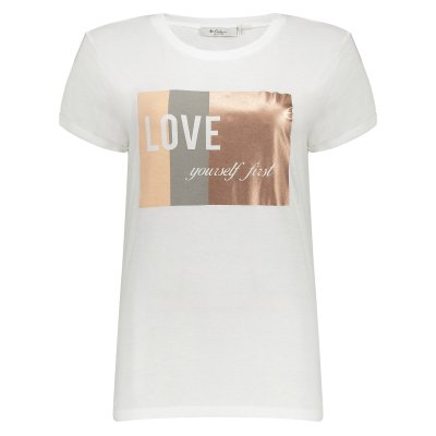 تی شرت زنانه کالینز مدل CL1032842-WHITE