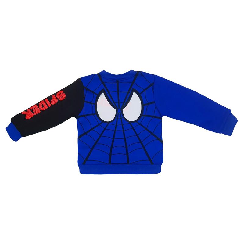 ست سویشرت و شلوار پسرانه طرح مرد عنکبوتی