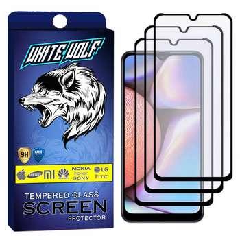 محافظ صفحه نمایش مات وایت ولف مدل WGM مناسب برای گوشی موبایل سامسونگ Galaxy A40 بسته 3 عددی