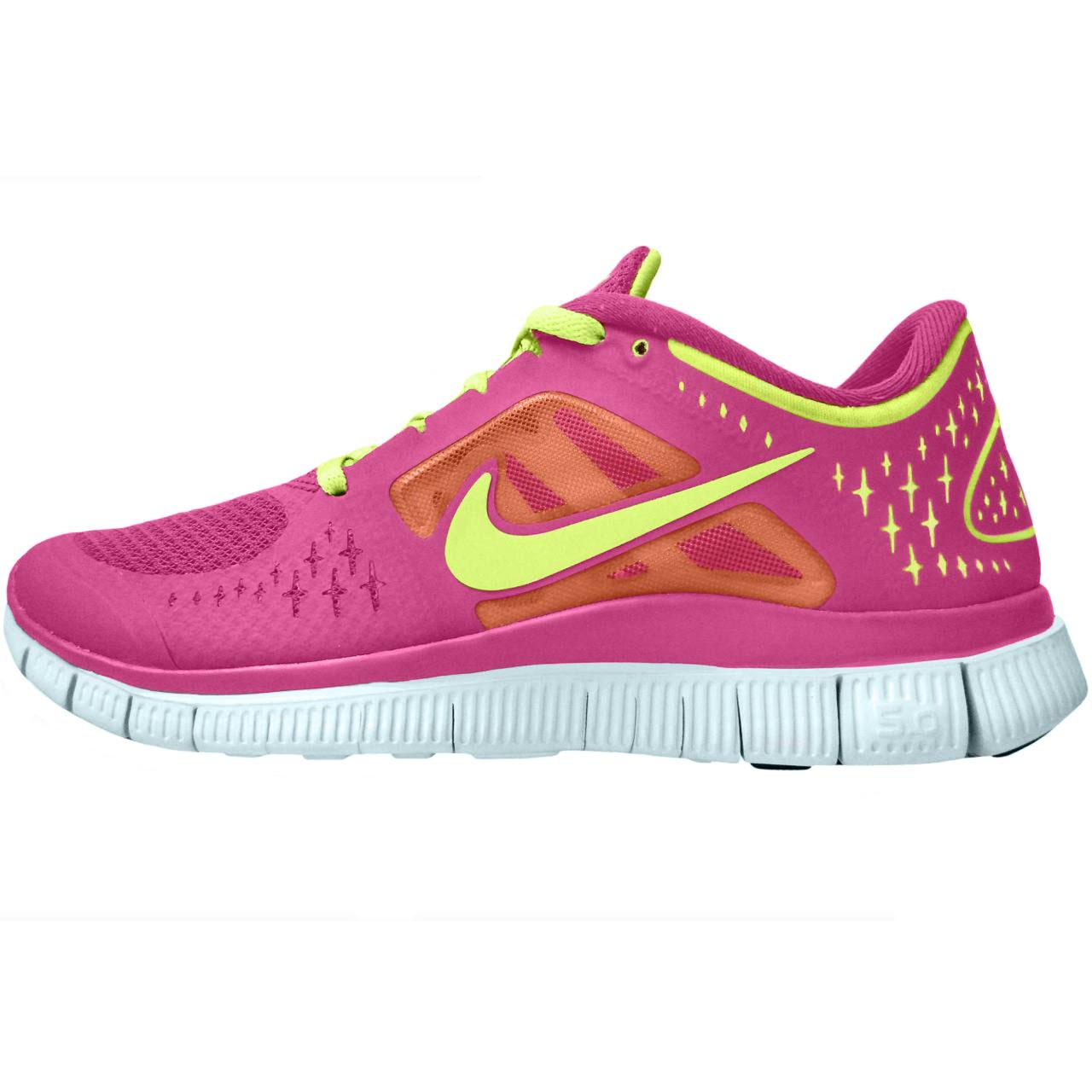 کفش مخصوص پیاده روی زنانه نایکی مدل 5.0 free run
