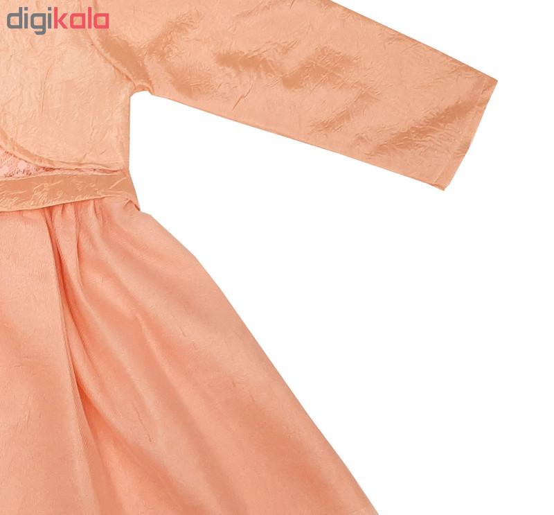 ست کت و پیراهن دخترانه مدل GOLBARG-GOL