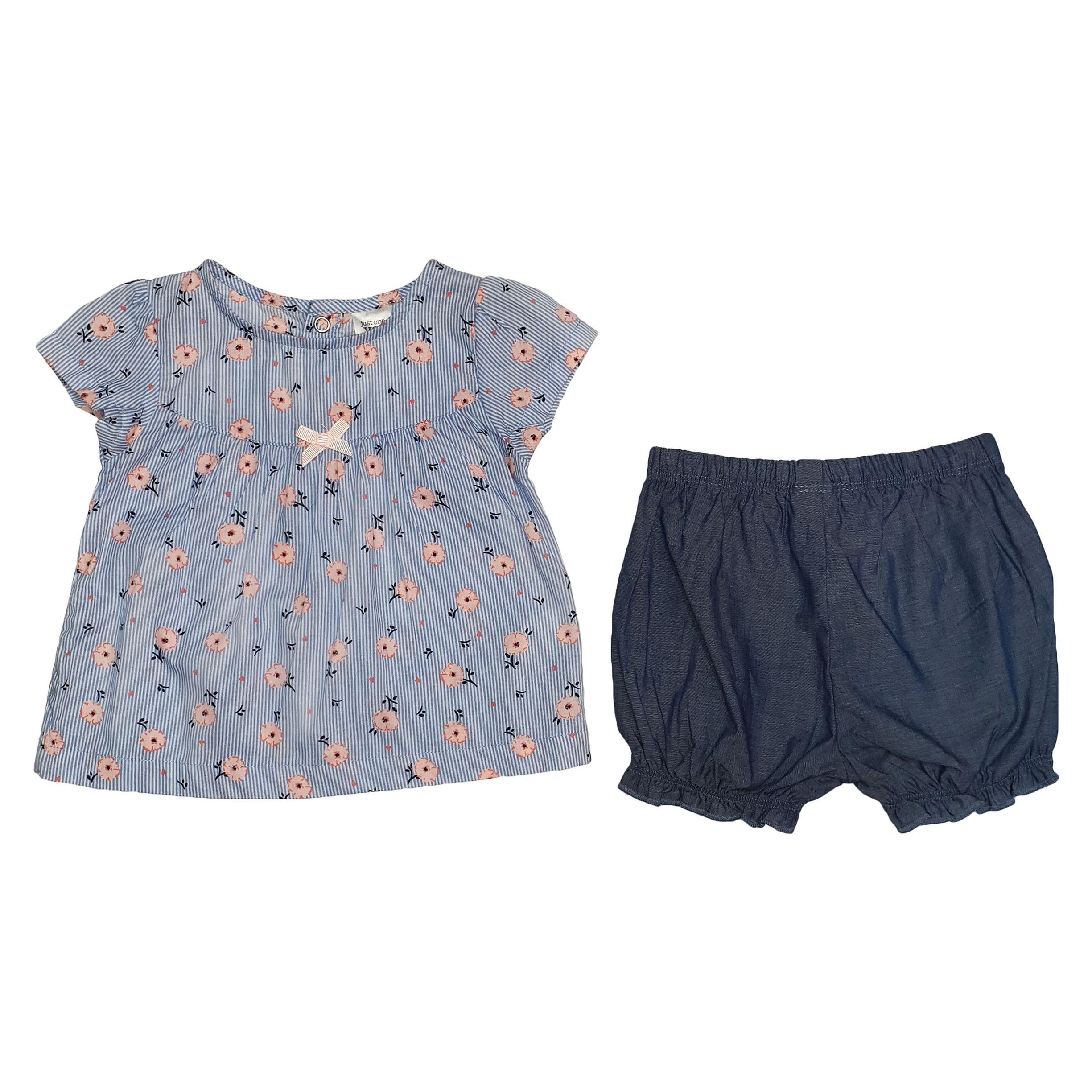 ست 2 تکه  لباس نوزادی کارترز کد 4