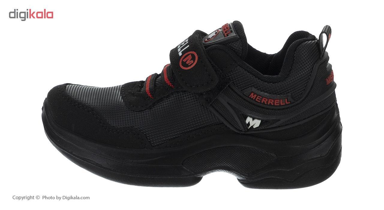 کفش مخصوص پیاده روی پسرانه مدل پرسان کد 7001