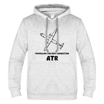 هودی مردانه طرح هواپیمای ATR کد 113
