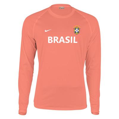تصویر تیشرت آستین بلند مردانه پاتیلوک طرح برزیل کد 330739
