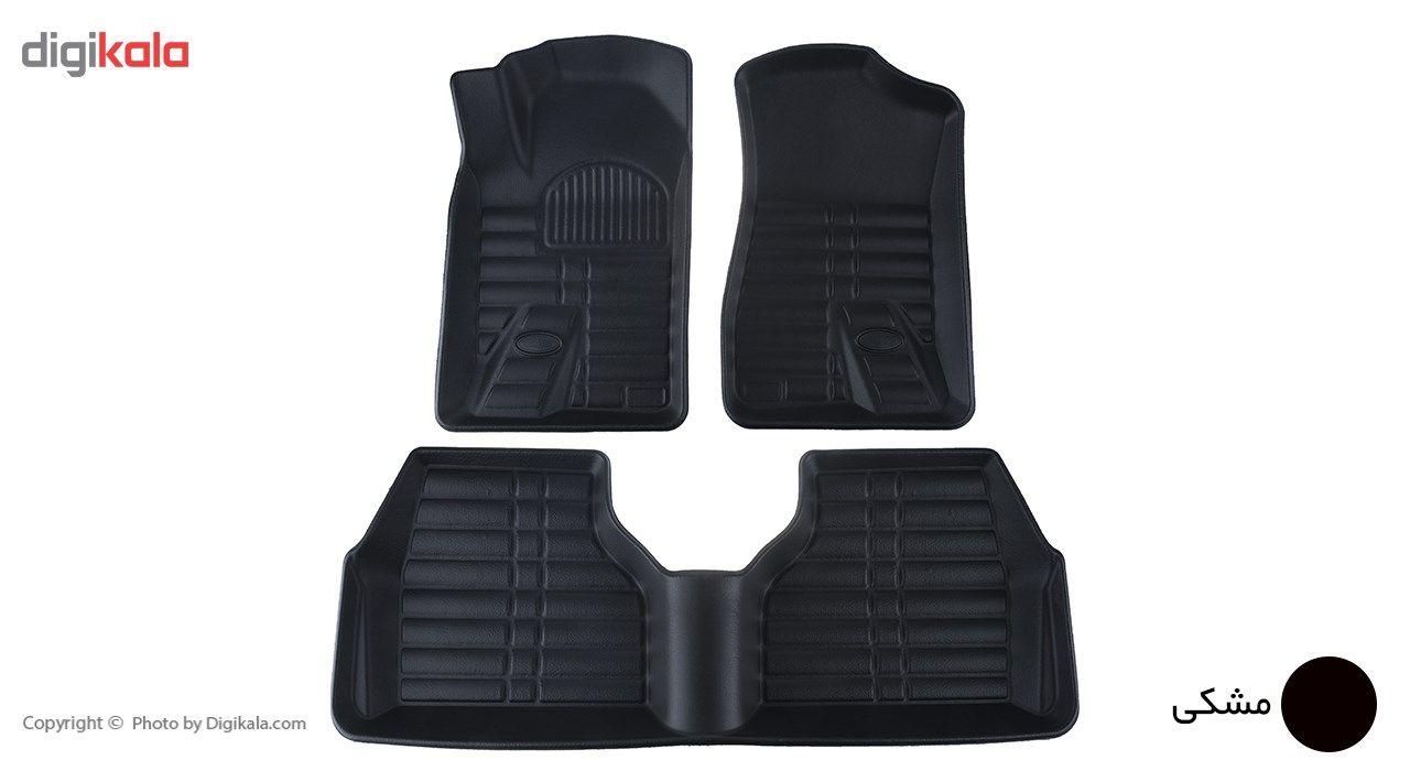 کفپوش سه بعدی خودرو بابل کارپت مناسب برای پژو 405 main 1 1