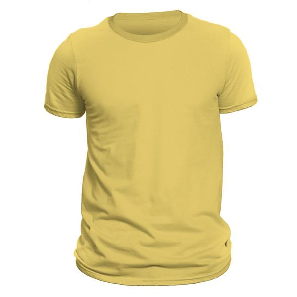 تیشرت آستین کوتاه مردانه کد  DC1GYLL رنگ زرد
