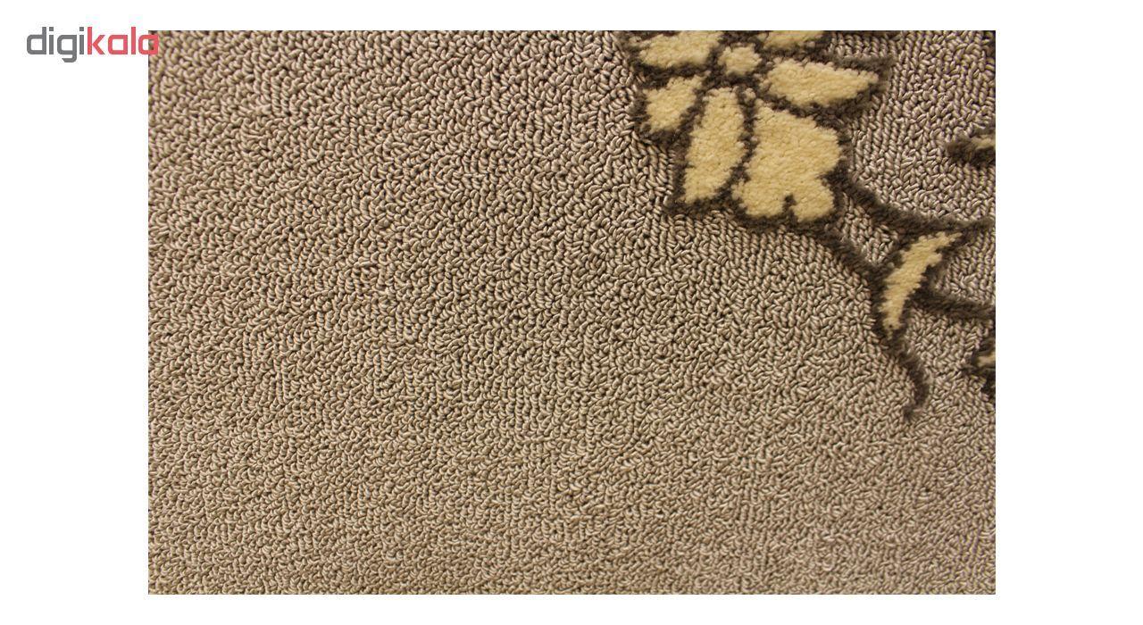 فرش ماشینی ساوین کد 7403 زمینه طوسی main 1 1