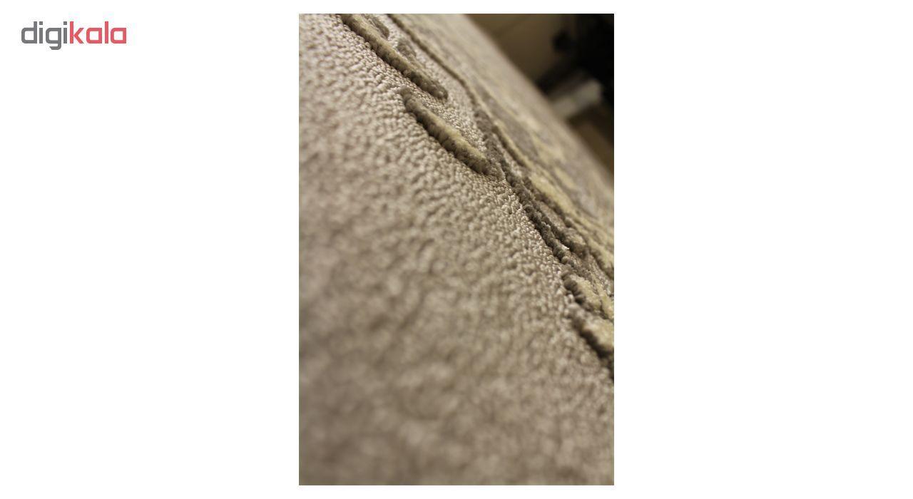 فرش ماشینی ساوین کد 7403 زمینه طوسی main 1 3
