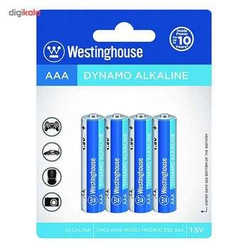 باتری نیمقلمی وستینگ هاوس مدل Dynamo Alkaline بستهی 4 عددی