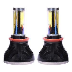 لامپ هدلایت خودرو ای ام تی مدل H11 بسته دو عددی