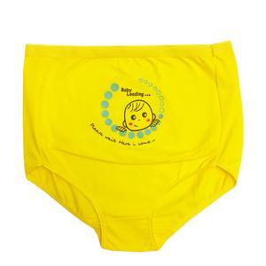 شورت بارداری مدل 00236 رنگ زرد
