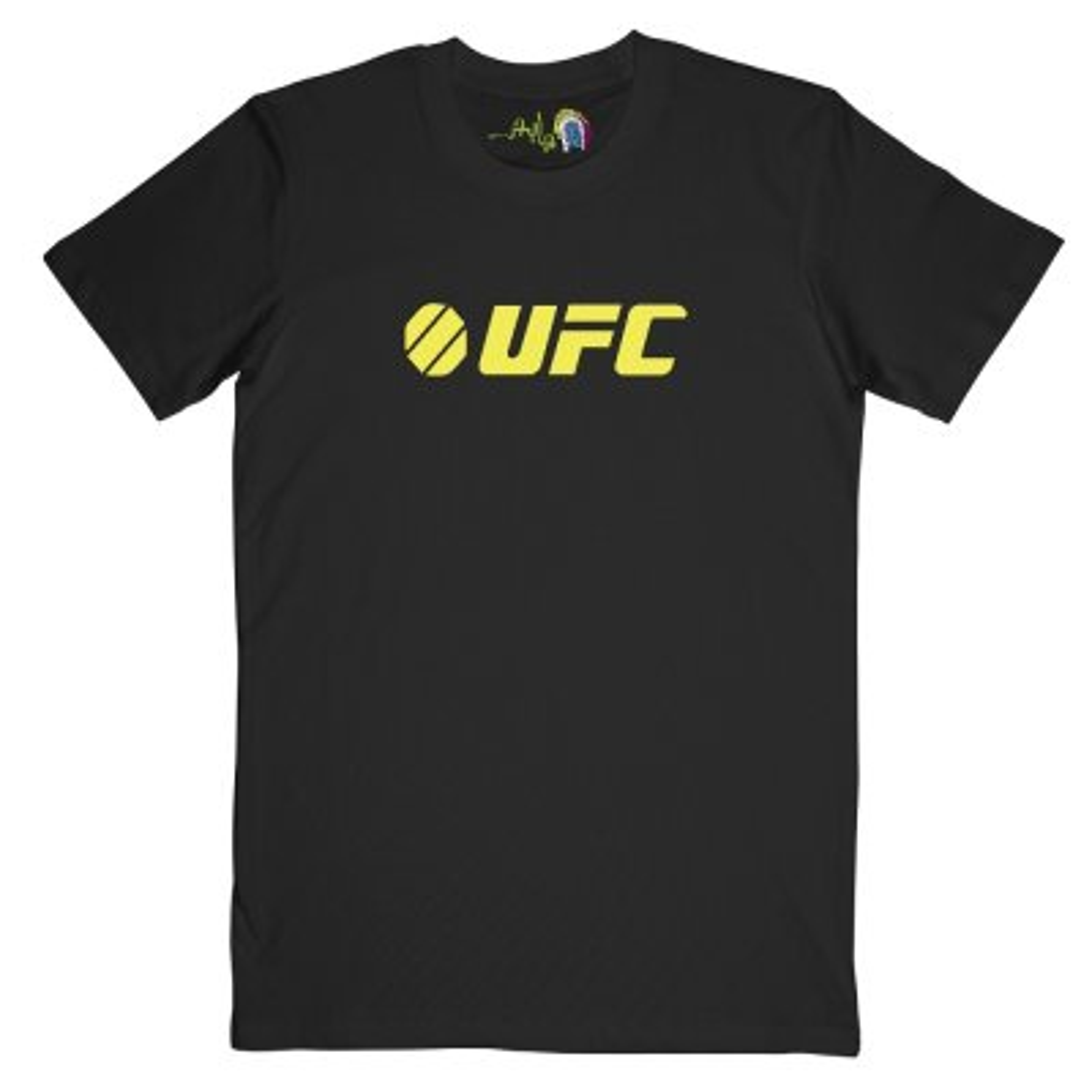 تصویر تیشرت مردانه چاپچی طرح UFC کد Z102