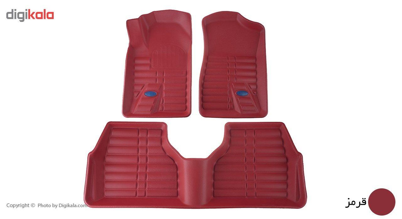کفپوش سه بعدی خودرو بابل کارپت مناسب برای پژو 405 main 1 3
