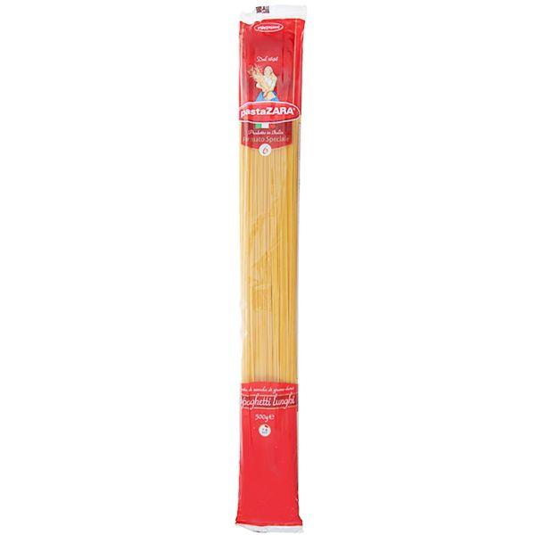 اسپاگتی پاستا زارا مدل Lunghi مقدار 500 گرمی