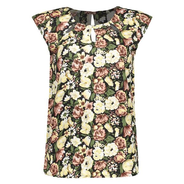 تی شرت زنانه آر ان اس مدل 1102042-36