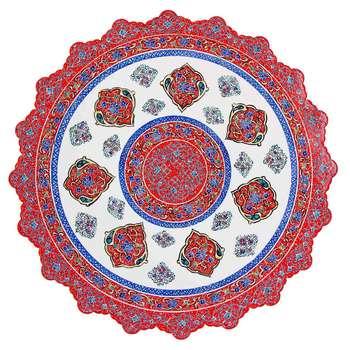 بشقاب مسی میناکاری اثر ابوالقاسمی کد 170106