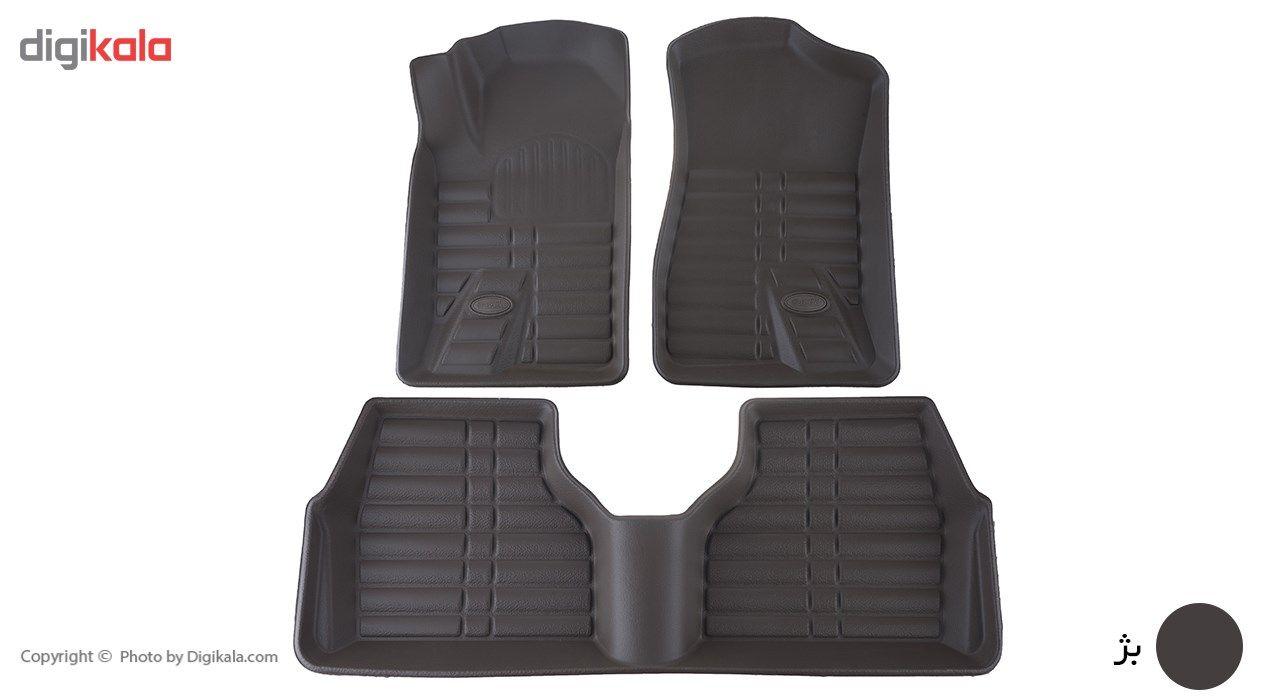 کفپوش سه بعدی خودرو بابل کارپت مناسب برای پژو 405 main 1 6