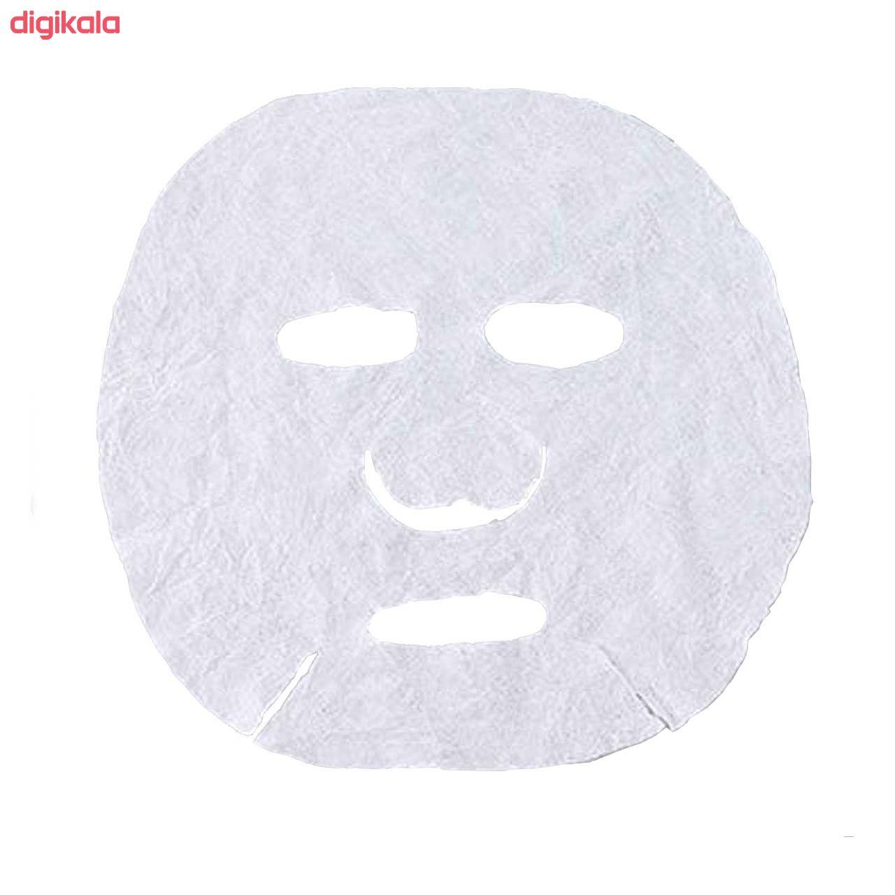 قرص ماسک ورقه ای صورت کد 001 بسته 10 عددی به همراه قلم ماسک مدل badonya2 main 1 2