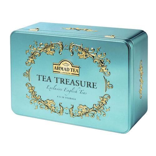 بسته چای کیسه ای چای احمد مدل Tea Treasure بسته 60 عددی