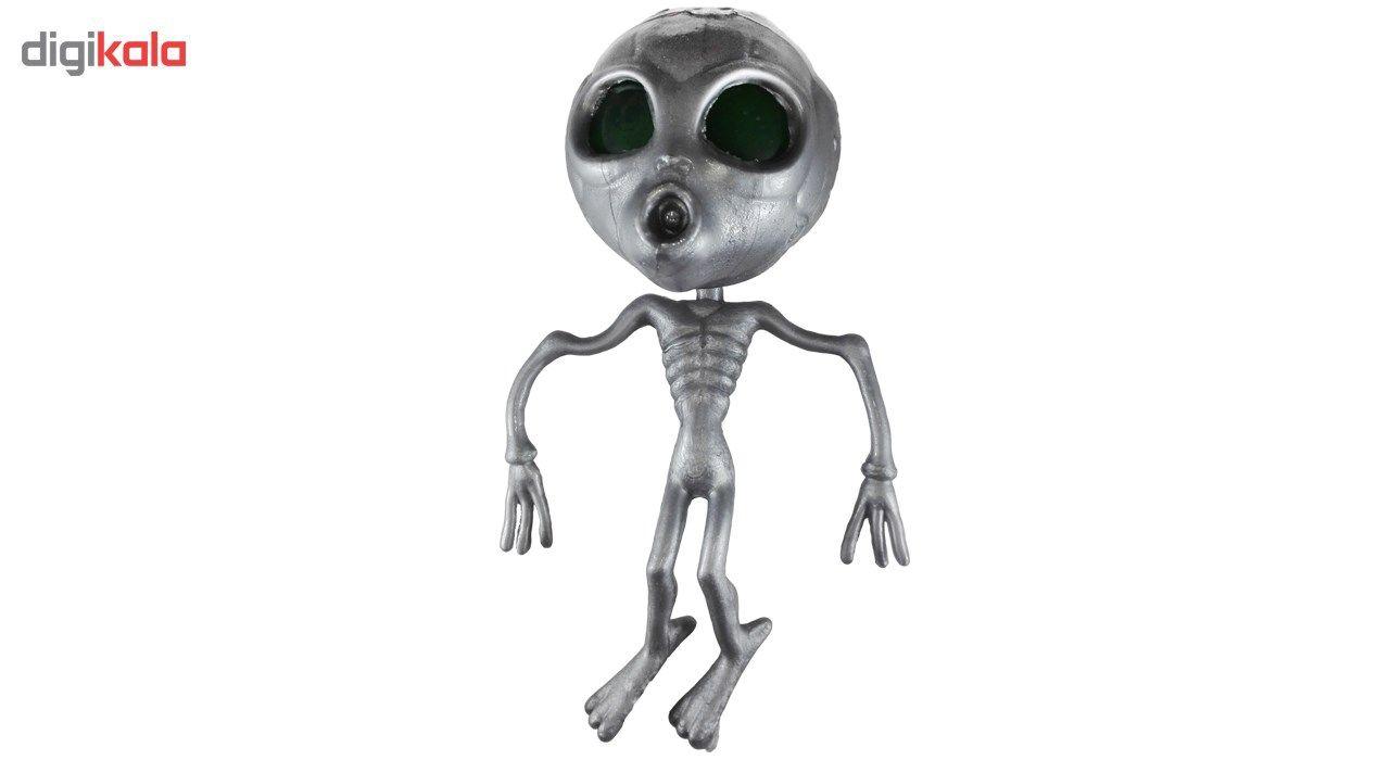 اسباب بازی ضد استرس مدل Silver Alien main 1 1
