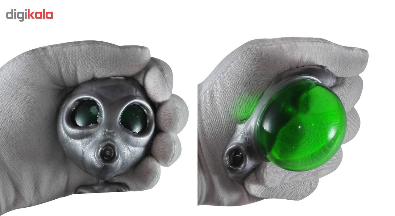 اسباب بازی ضد استرس مدل Silver Alien main 1 3