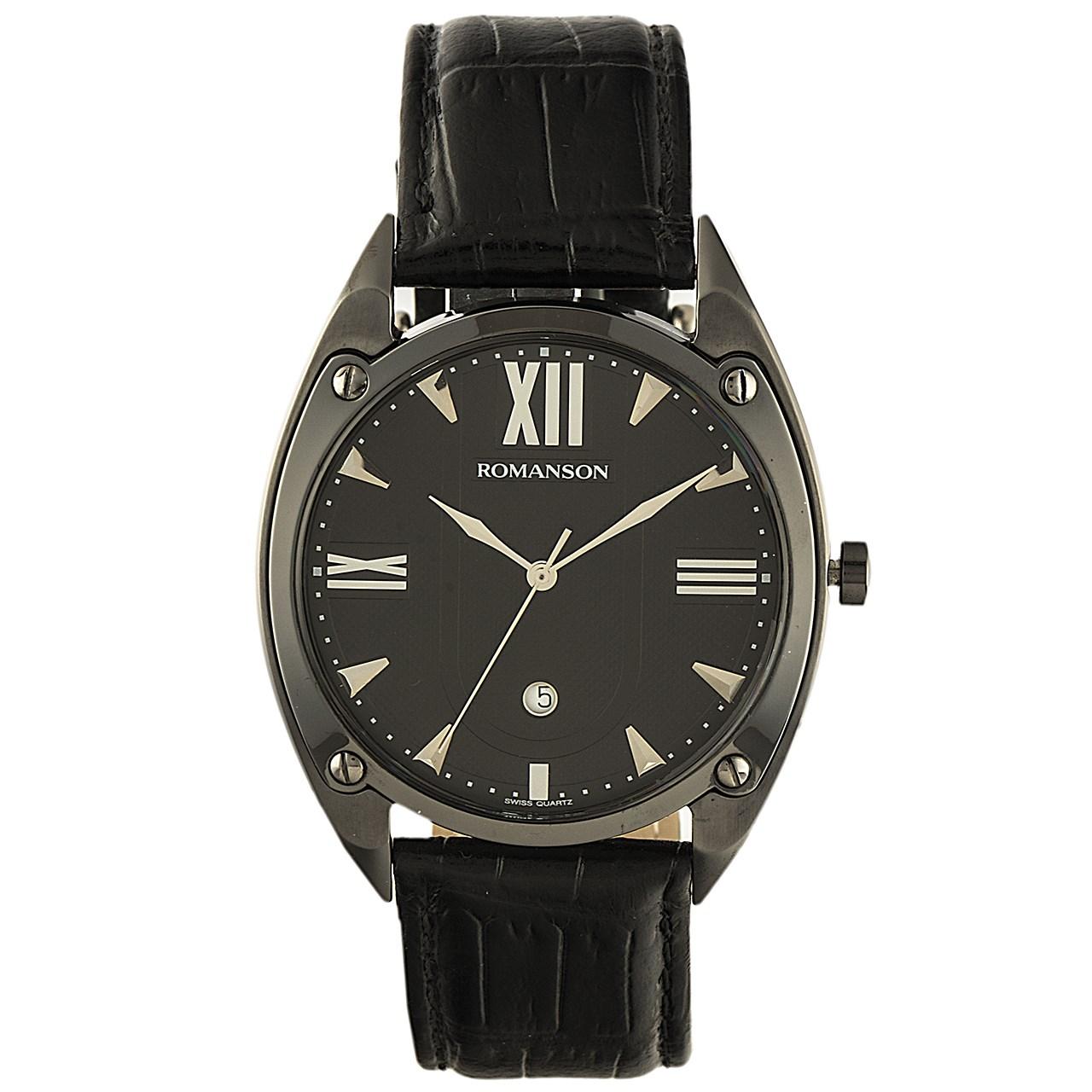 ساعت مچی عقربه ای مردانه رومانسون مدل TL1272MM1BA32W 14