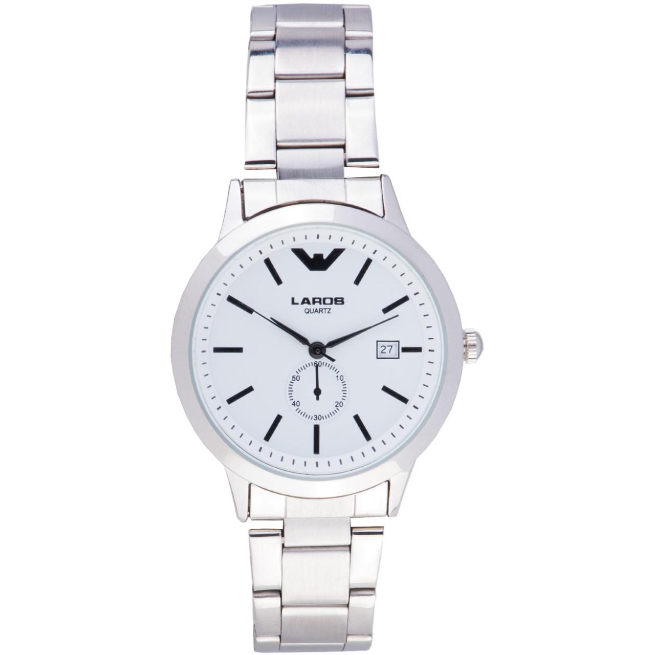 ساعت مچی عقربه ای مردانه لاروس مدل 79965D 38